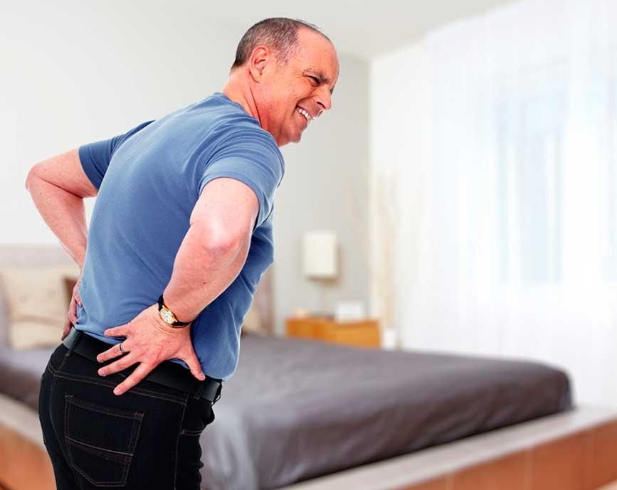 lesión espalda