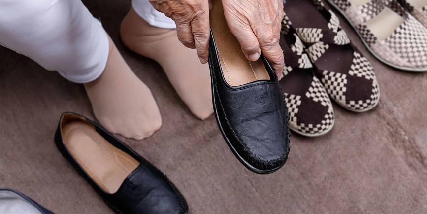 caidas mayores calzado